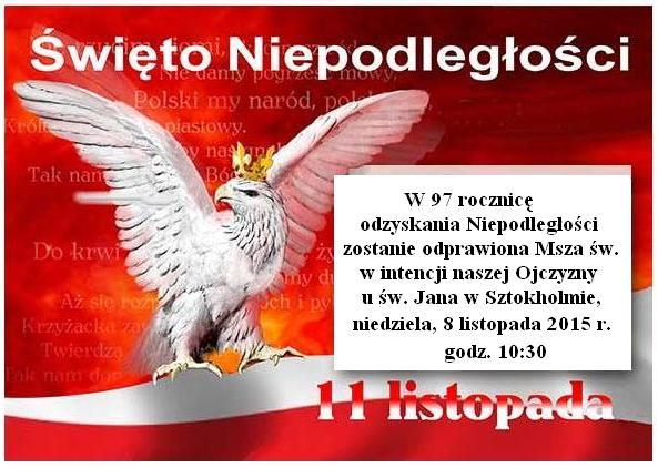 Swieto Niepodleglosci Polski